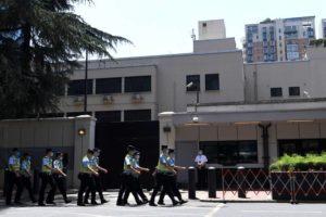 Após expulsar americanos, China entra no consulado dos EUA em Chegdu
