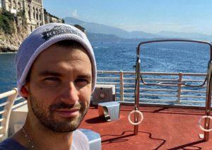 Após isolamento, Dimitrov testa negativo para covid