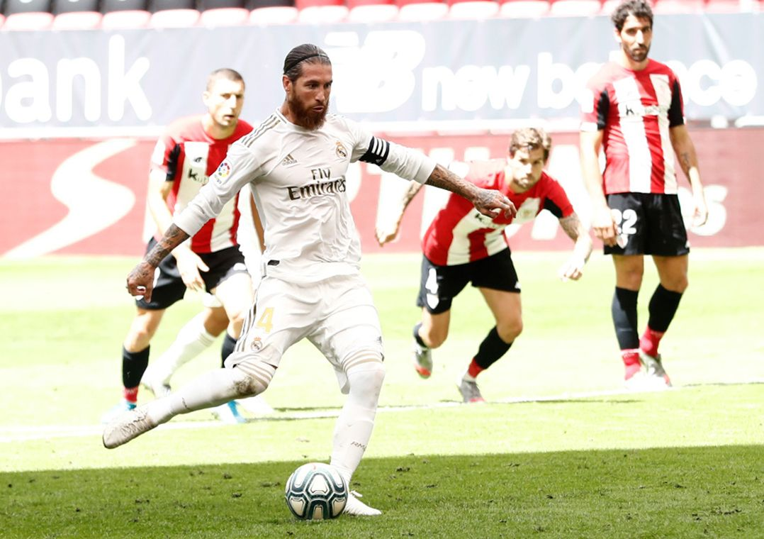 Real Madrid vence Bilbao e dispara na liderança