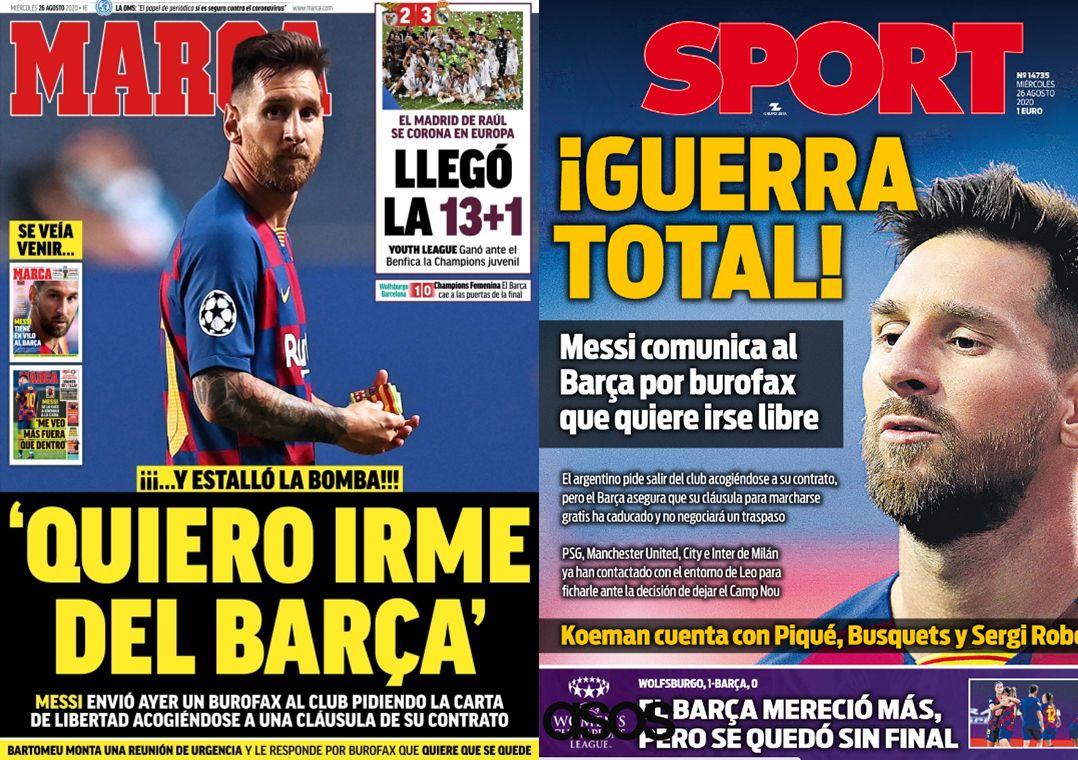 Iminente saída de Messi choca e causa raiva em torcedores do Barça