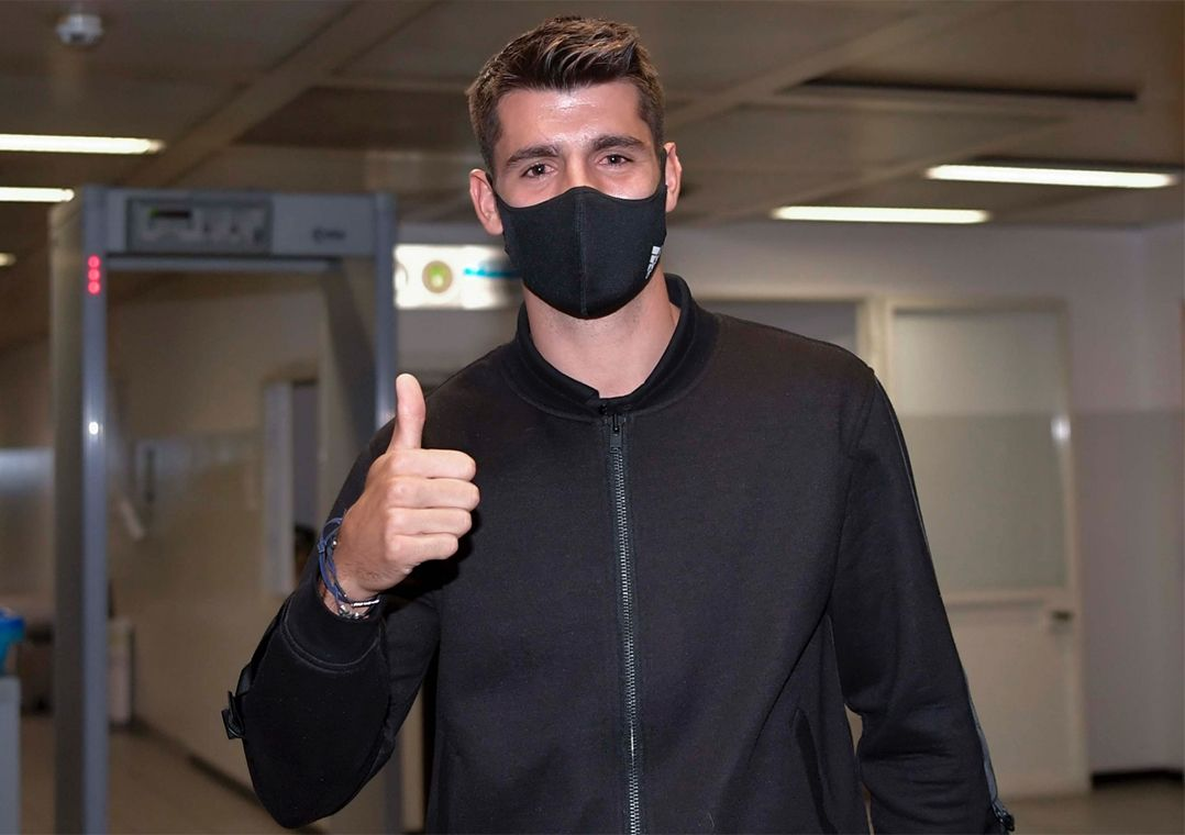 Juventus acerta retorno do atacante Álvaro Morata