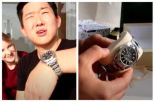 Pyong Lee ganha relógio avaliado em R$ 200 mil de aniversário