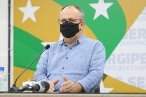"""""""Se nada fizer, já no mês de janeiro, a rede hospitalar entra em colapso"""", afirma Belivaldo Chagas"""