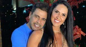 Noiva diz que Zezé Di Camargo está voltando a sorrir após morte do pai