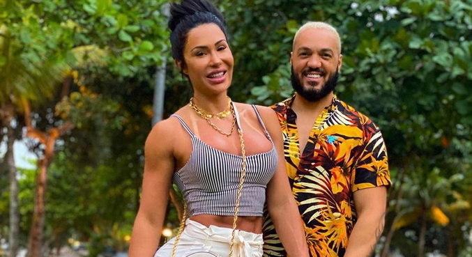 Belo e Gracyanne Barbosa falam sobre a relação: 'Nós não brigamos'