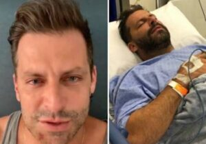 Henri Castelli diz ter sido agredido, mostra ferimentos e choca fãs