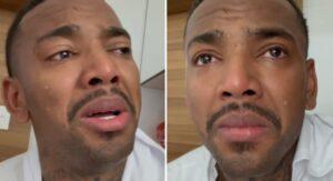 Investigado pela polícia, Nego do Borel chora: 'Não aguento mais'