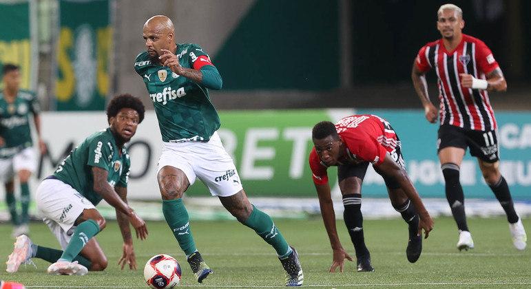 Palmeiras repete erros e perde em casa para o São Paulo no clássico