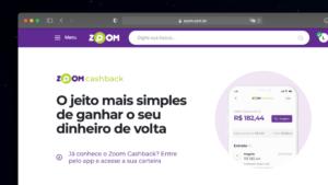 Read more about the article Zoom lança cashback para concorrer com demais plataformas