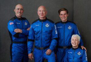 Read more about the article Jeff Bezos, homem mais rico do mundo, viaja ao espaço em voo histórico de 10 minutos