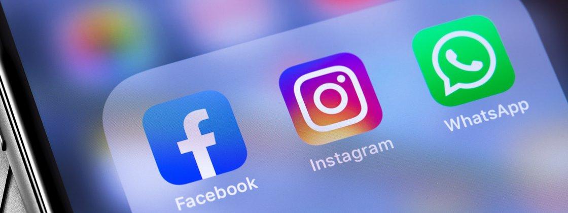 Read more about the article WhatsApp, Facebook e Instagram ficam fora do ar nesta segunda (04)