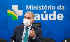 Read more about the article Ministro da Saúde testa negativo para covid-19